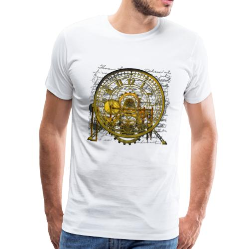 Steampunk Time Machine #2 Men's Premium T-Shirt - Men's Premium T-Shirt