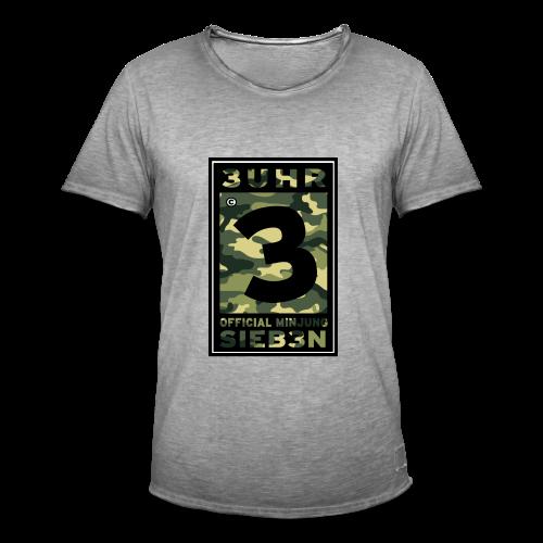 3UhrSieb3n - OFFICIAL MINJUNG | Vintage T-Shirt [Männer] - Männer Vintage T-Shirt