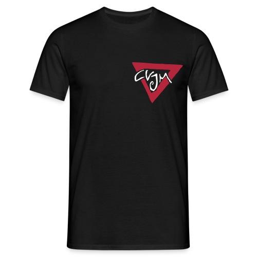 günstiges T-Shirt mit kleinem Logo vorn - Männer T-Shirt