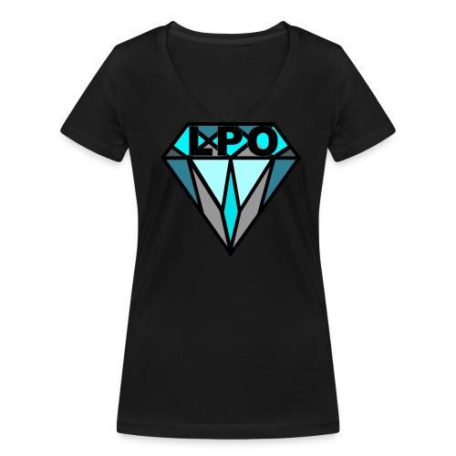 Limitierter LPO Diamond Frauen T-Shirt - Frauen Bio-T-Shirt mit V-Ausschnitt von Stanley & Stella