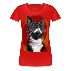 Stalin the Cat USSR Womens' Tee - Women's Premium T-Shirt