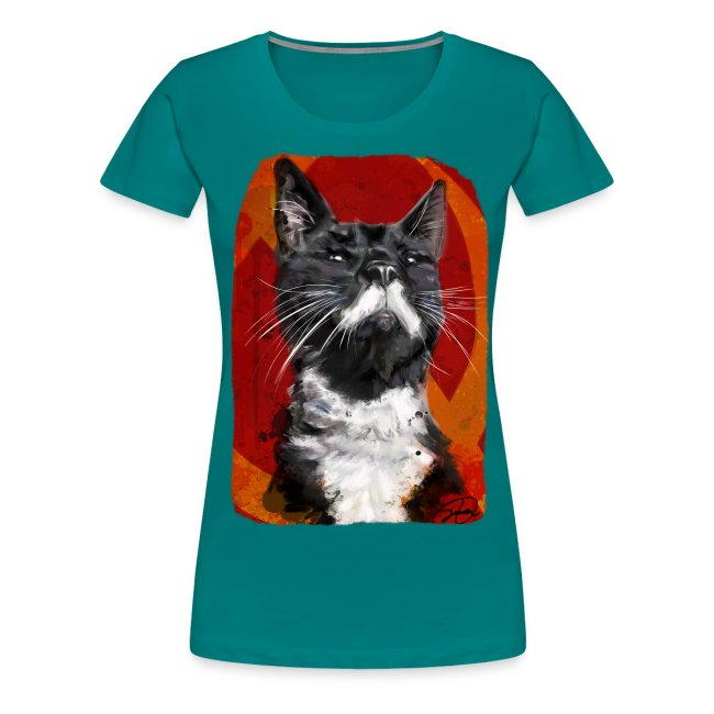 Stalin the Cat USSR Womens' Tee