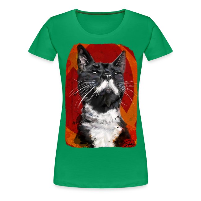 Stalin the Cat USSR Womens' Tee