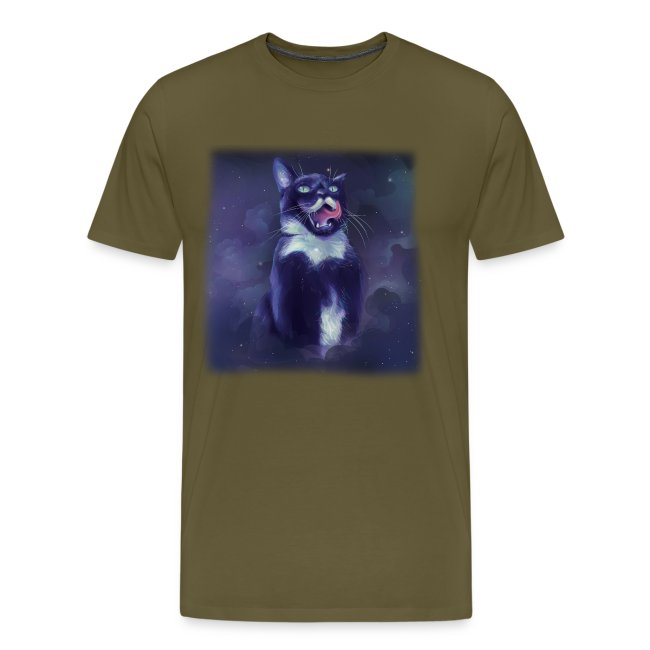 Stalin the Cat Galaxy Men's Tee