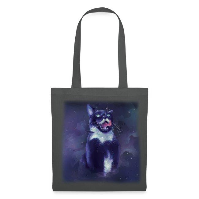 Stalin the Cat Galaxy Bag