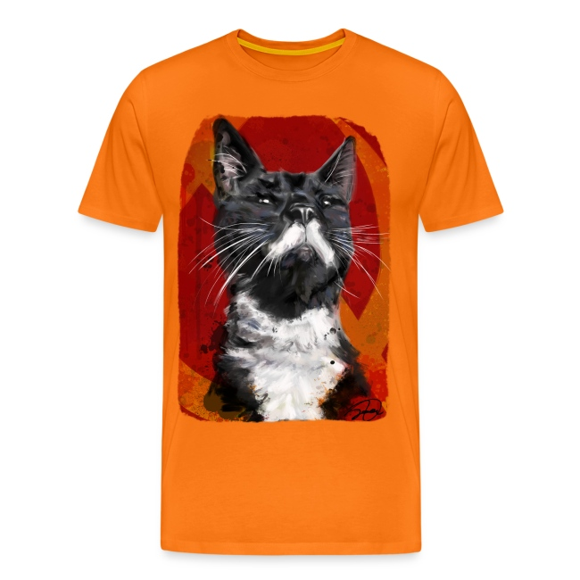 Stalin the Cat USSR Men's Tee