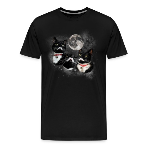Three Stalins and a Moon Men's Tee - Men's Premium T-Shirt