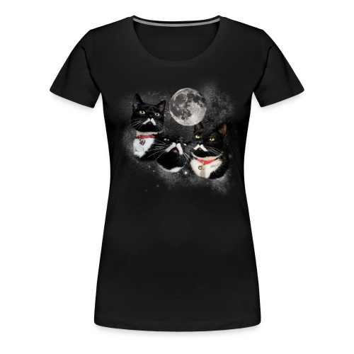 Three Stalins and a Moon Women's Tee - Women's Premium T-Shirt