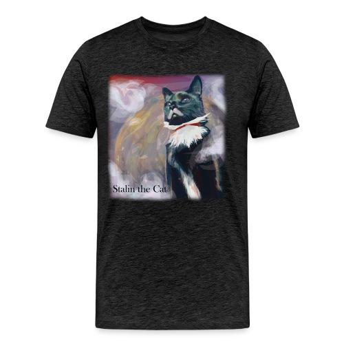 Stalin the Cat Men'sTee - Men's Premium T-Shirt