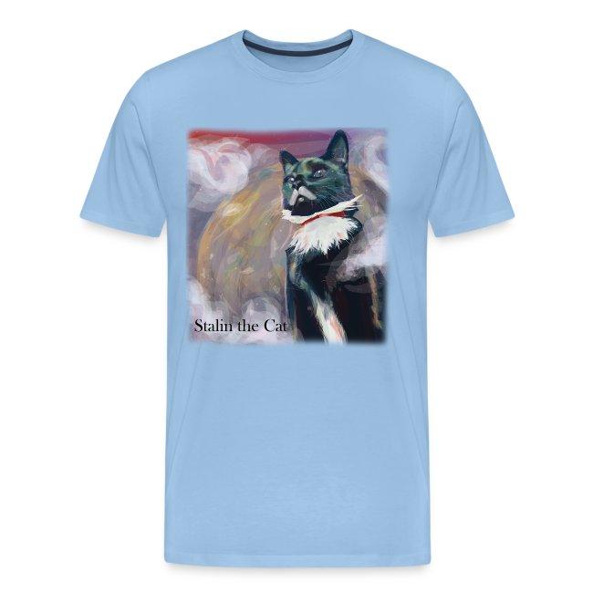 Stalin the Cat Men'sTee