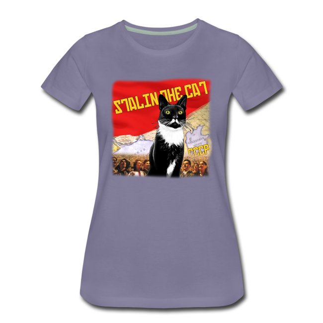 Stalin the Cat Propaganda Women's Tee