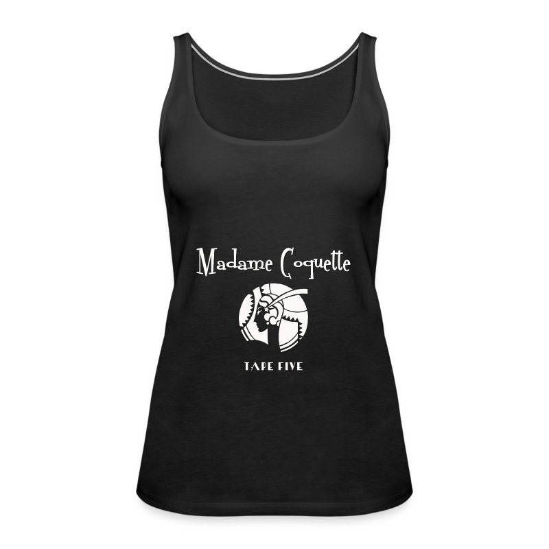 TAPE FIVE madame coquette top - Women's Premium Tank Top