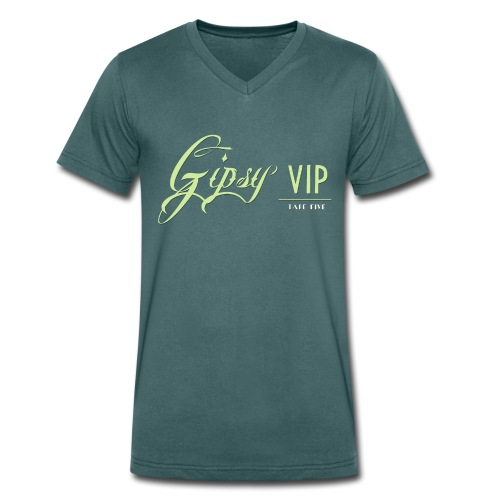 TAPE FIVE gipsy VIP shirt, male - Men's Organic V-Neck T-Shirt by Stanley & Stella