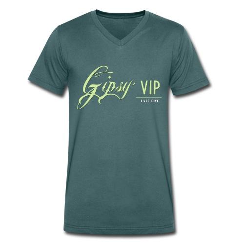 TAPE FIVE gipsy VIP shirt, male - Men's Organic V-Neck T-Shirt by Stanley & Stella