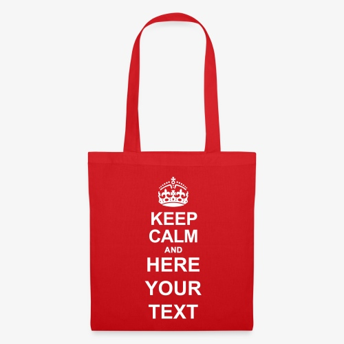 Keep Calm And Edit - Tote Bag