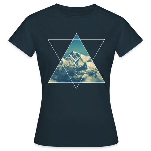 T-shirt - Mountain from the sky - Femme - T-shirt Femme