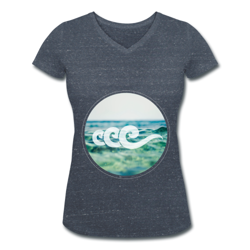 T-shirt - Sea - Femme - T-shirt bio col V Stanley & Stella Femme