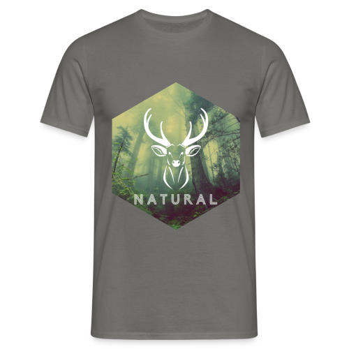 T-shirt - Natural - Homme - T-shirt Homme