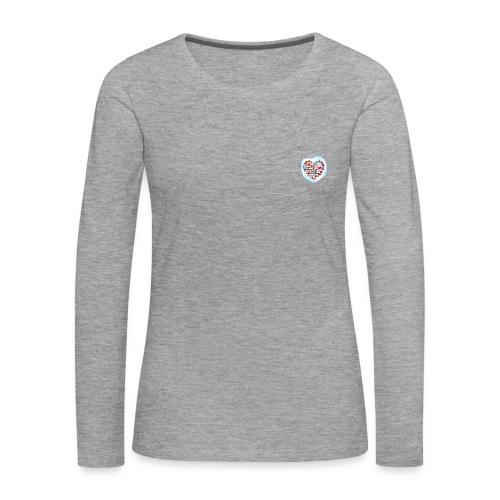 Love Trumps Hate - Women's Premium Longsleeve Shirt