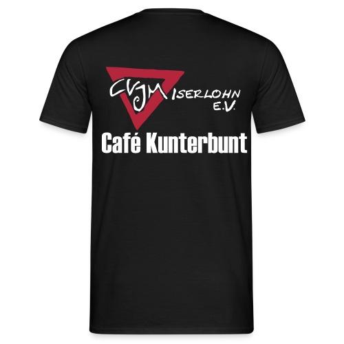 Café-Kunterbunt T-Shirt - Männer T-Shirt