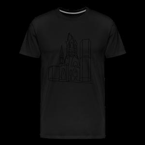 Gedächtniskirche Berlin  - Männer Premium T-Shirt