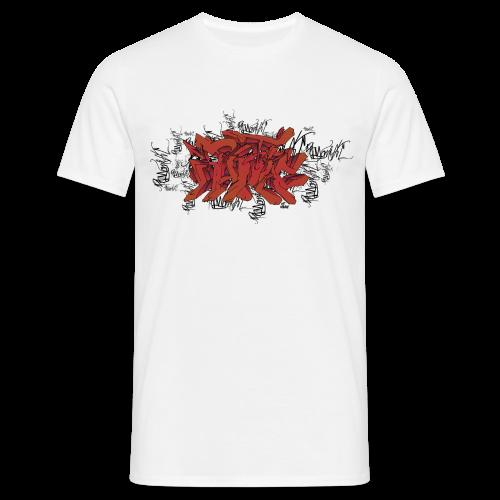 PM Wildstyle Red - Männer T-Shirt