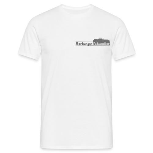 Men Walker White - Männer T-Shirt
