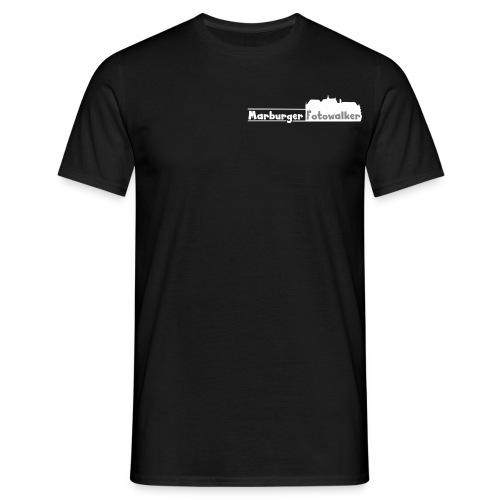 Men Walker Logo hinten - Männer T-Shirt