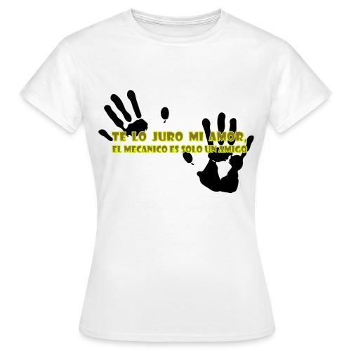 Te lo Juro white - Maglietta da donna