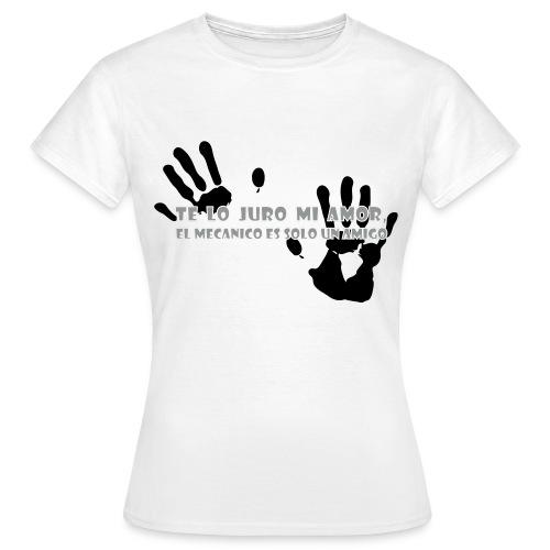 Te lo Juro white basic - Maglietta da donna