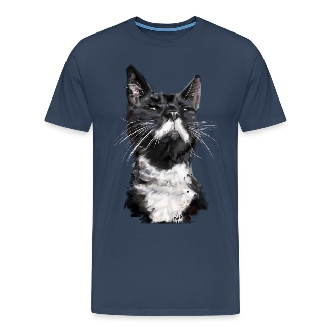 Stalin the Cat Watercolour Men's Tee