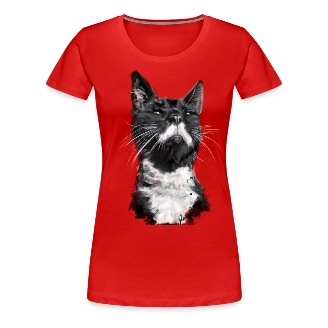 Stalin the Cat Watercolour Women's Tee