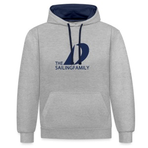 TSF New Logo Hoodie - Contrast Colour Hoodie