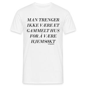 Hjemsøkt - Tshirt - T-skjorte for menn