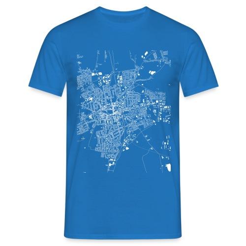 HEIDE Shirt blau - Männer T-Shirt