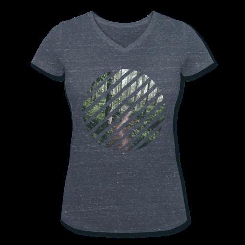 T-shirt - Fôret en sphère - Femme - T-shirt bio col V Stanley & Stella Femme