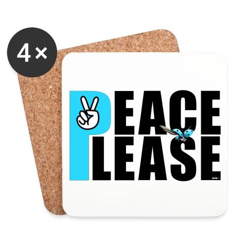 Please Peace_ - Untersetzer (4er-Set)