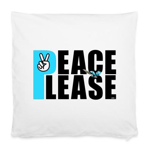 Please Peace_ - Kissenbezug 40 x 40 cm