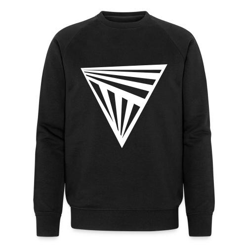 Schwarzes Sweatshirt Triangle mit Bio-Baumwolle - Men's Organic Sweatshirt by Stanley & Stella