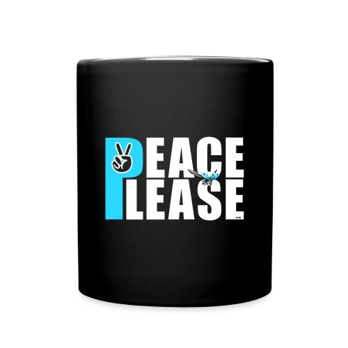 Please Peace_ - Tasse einfarbig