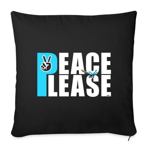 Please Peace_ - Sofakissenbezug 44 x 44 cm