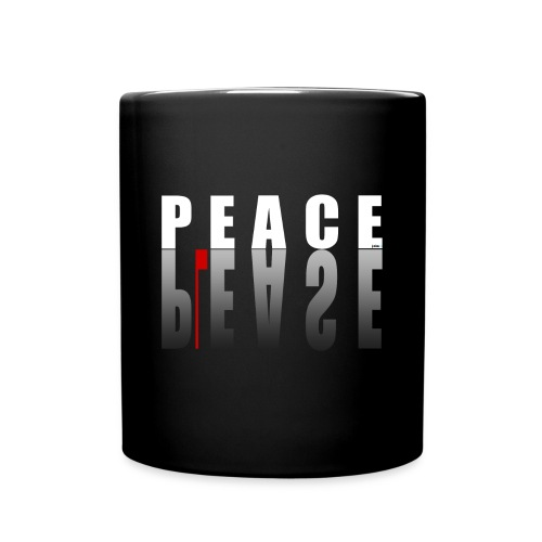 Please Peace - Tasse einfarbig
