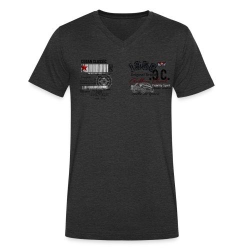 CC Cargo  - Männer Bio-T-Shirt mit V-Ausschnitt von Stanley & Stella