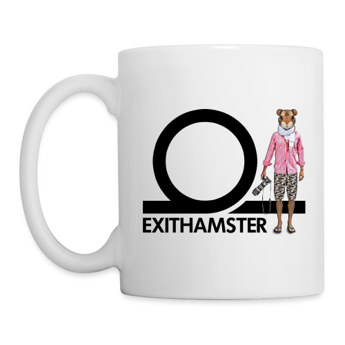 EXITHAMSTER SIDEWALK ✦ MUG ✦ WHITE - Mug