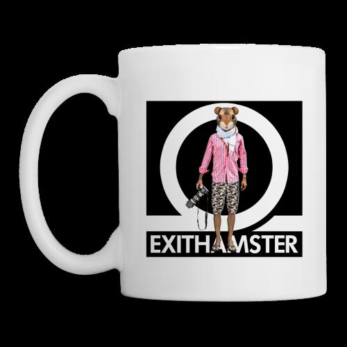 EXITHAMSTER LOGO ✦ MUG ✦ WHITE - Mug