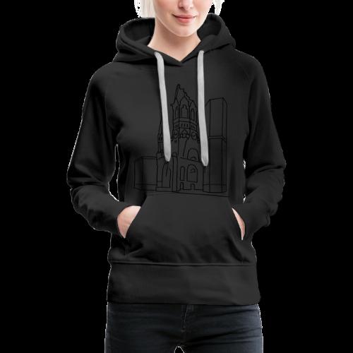 Gedächtniskirche Berlin  - Frauen Premium Hoodie