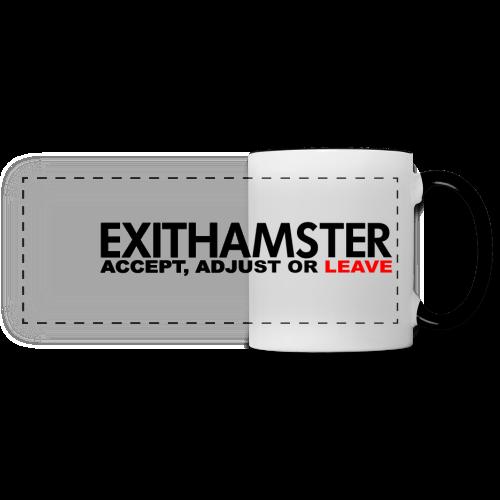 EXITHAMSTER LEAVE ✦ MUG - Panoramic Mug