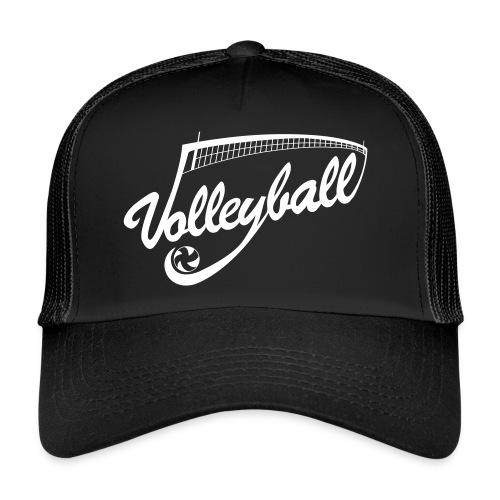 Casquette Volleyball Noir - Trucker Cap