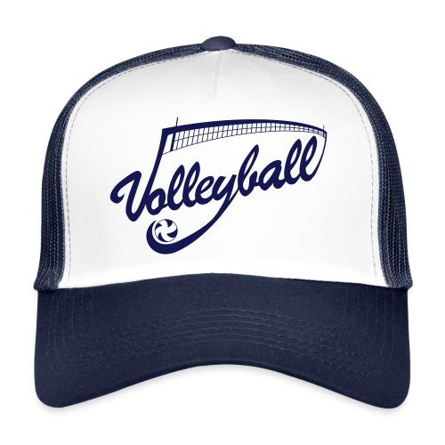 Casquette Volleyball Bleu marine/Noir - Trucker Cap