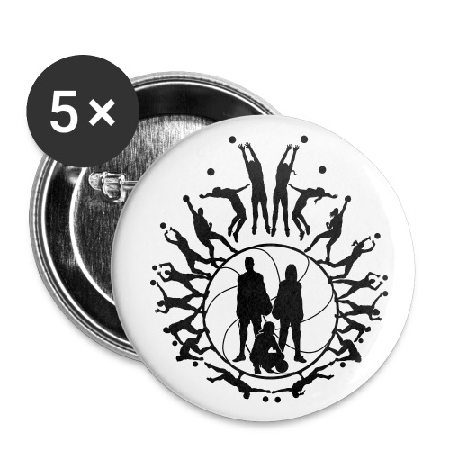 Badges Volleyball - Badge petit 25 mm
